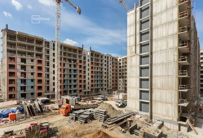 ЖК «Притяжение»: ход строительства корп. 5