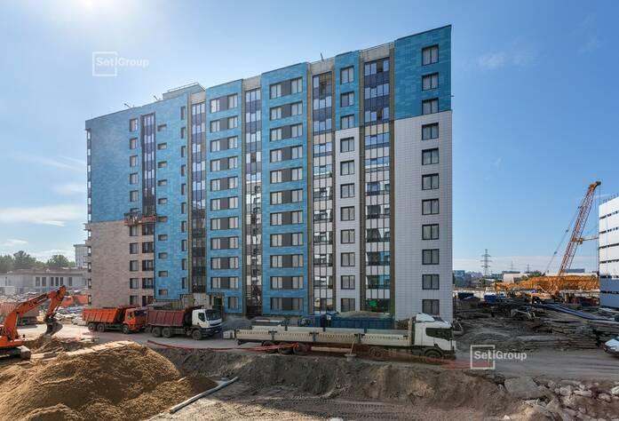 МФК «ArtLine в Приморском»: ход строительства дома 4