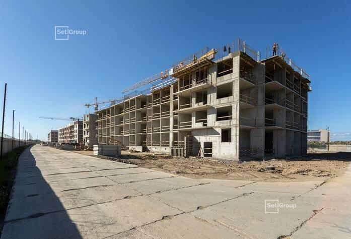 МЖК «Солнечный город Резиденции»: ход строительства корп. 2