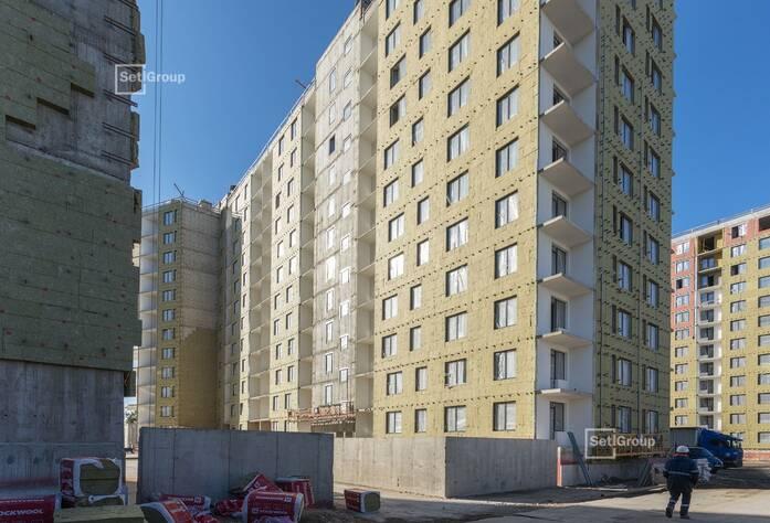 ЖК «Статус у парка Победы»: ход строительство дом 1