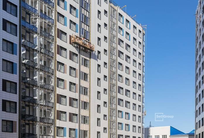 ЖК «Статус у парка Победы»: ход строительство дом 2