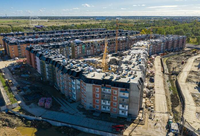 МЖК «Зеленый квартал»: ход строительства корпус 2.1-2.3