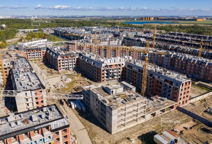 МЖК «Зеленый квартал»: ход строительства корпус 3.1.3