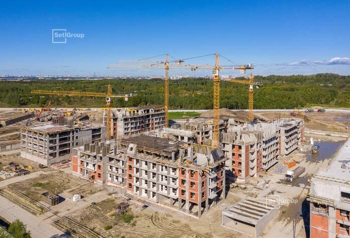МЖК «Зеленый квартал»: ход строительства корпус 4.2-4.5