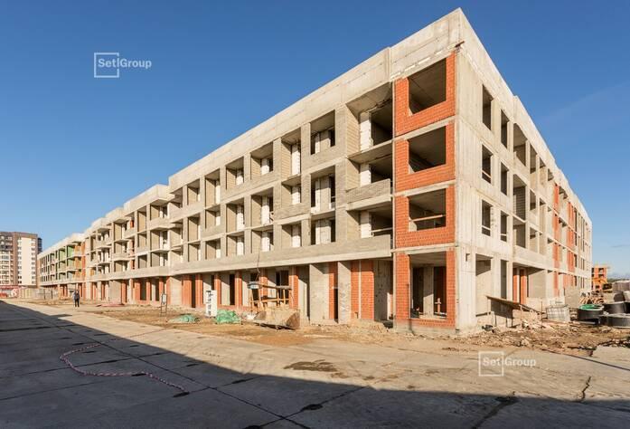 МЖК «Солнечный город Резиденции»: ход строительства корпус 1.1-1.2