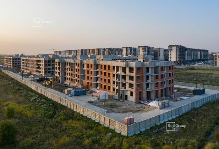 МЖК «Солнечный город Резиденции»: ход строительства корпус 2