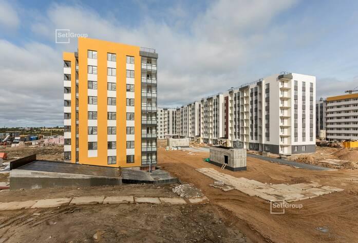 ЖК «Солнечный город»: ход строительства Корпус 10.3.1-10.3.2