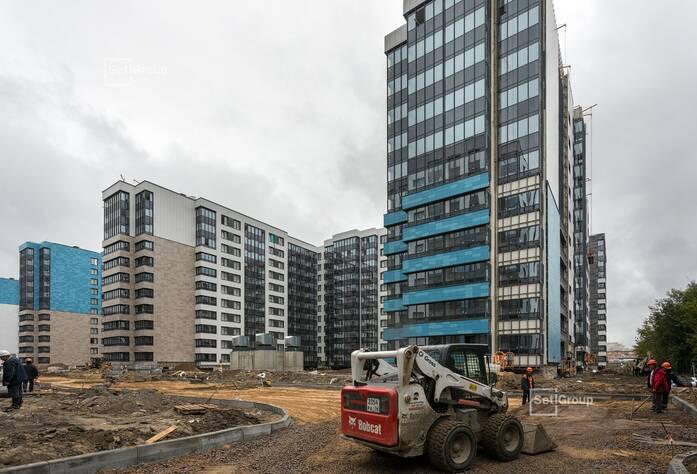 МФК «ArtLine в Приморском»: ход строительства дом 5