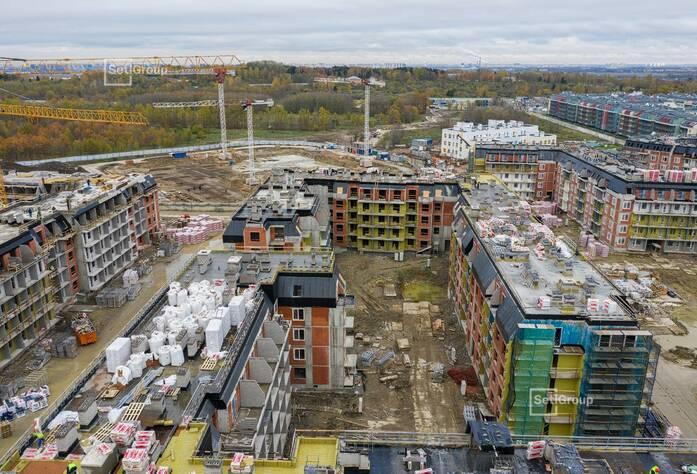 МЖК «Зеленый квартал»: ход строительства корп. 4.2-4.5