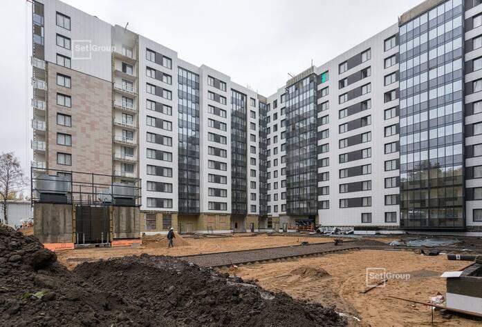 МФК «ArtLine в Приморском»: ход строительства дома 1