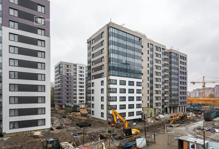 МФК «ArtLine в Приморском»: ход строительства дома 3