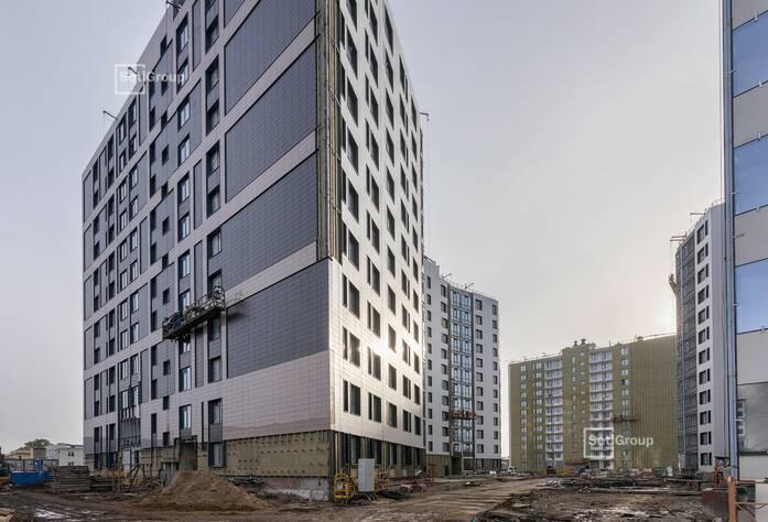 ЖК «Статус у парка Победы»: ход строительства дома 3