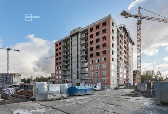 ЖК «Панорама парк Сосновка»:  ход строительства корпуса 1