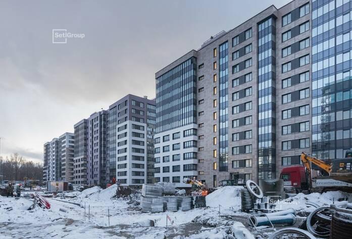 МФК «ArtLine в Приморском»: ход строительства (дом 3)