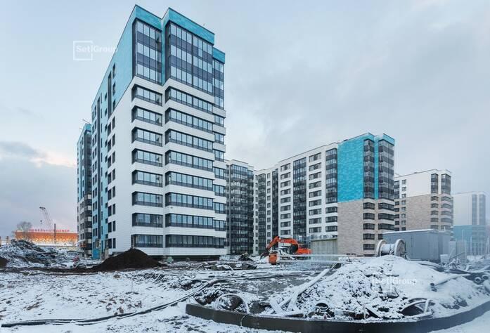 МФК «ArtLine в Приморском»: ход строительства (дом 4)