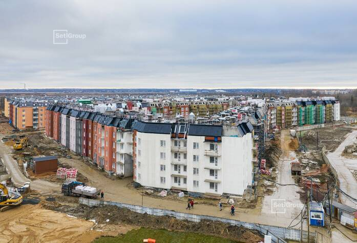 МЖК «Зеленый квартал»: ход строительства корп. 2.1-2.3