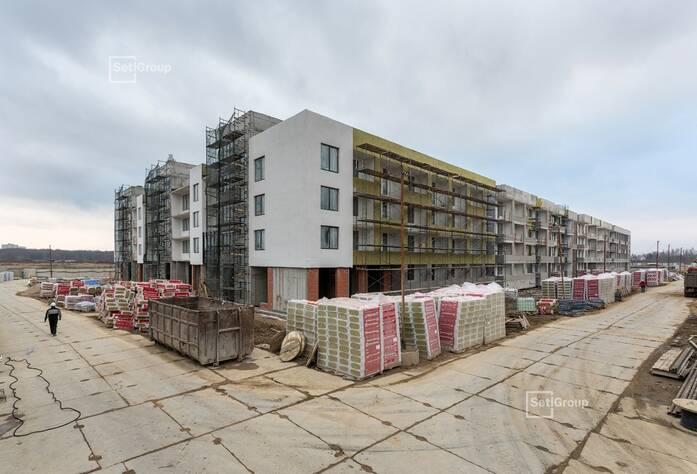 МЖК «Солнечный город Резиденции»: ход строительства корп. 1.1-1.2