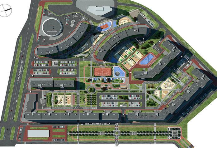 ЖК «Урбанист»: визуализация