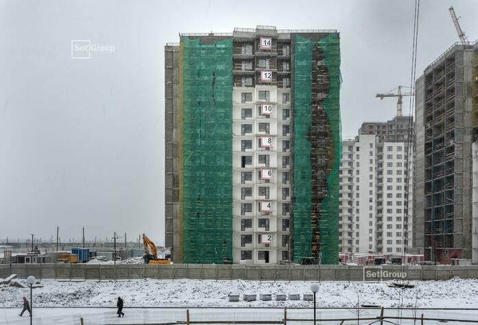 ЖК «Чистое небо»: ход строительства корп. 10.1-10.3