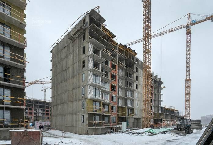 ЖК «Чистое небо»: ход строительства корп. 11