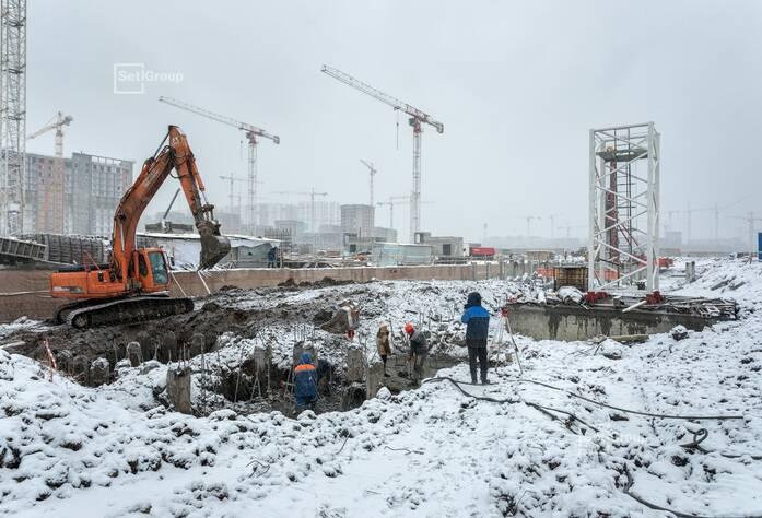 ЖК «Чистое небо»: ход строительства корп. 12.1-12.3