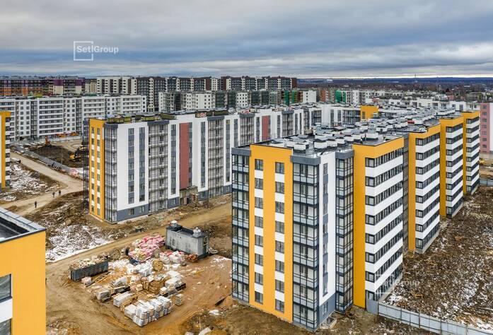 ЖК «Солнечный город»: ход строительства корп. 10.3.1-10.3.2