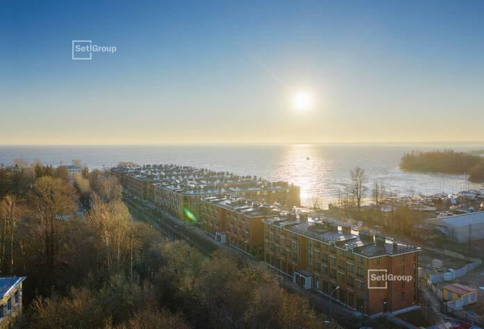 Малоэтажный ЖК «Фортеция. Жизнь на побережье»: корпус 1