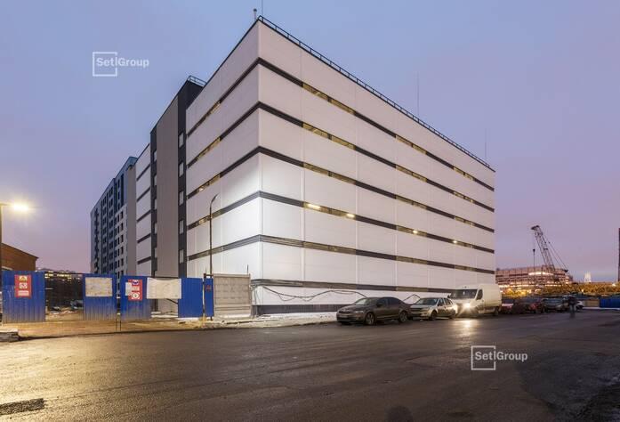 МФК «ArtLine в Приморском»: надземный паркинг