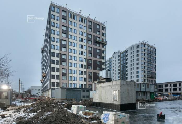 ЖК «Статус у парка Победы»: ход строительства дома 2
