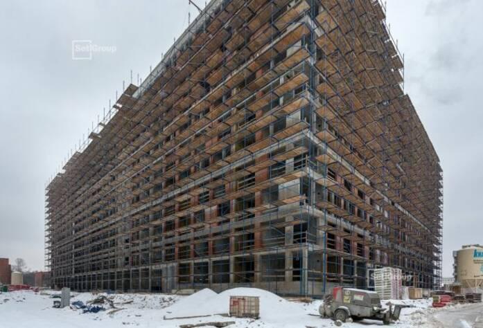 ЖК «Svetlana Park»: ход строительства корп. 1.1, 1.2