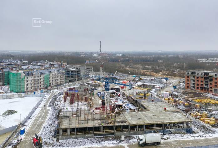 МЖК «Зеленый квартал»: ход строительства корп. 5.1, 5.2