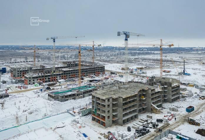 ЖК «Солнечный город»: ход строительства корп. 12.1-12.2
