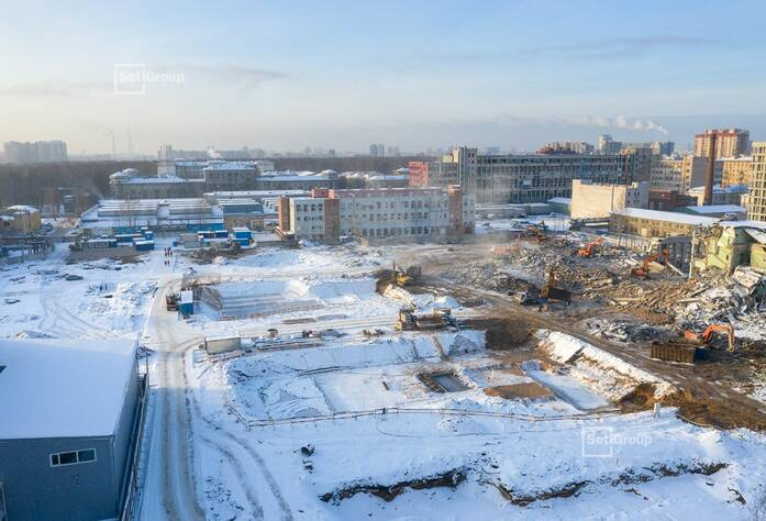 ЖК «Панорама парк Сосновка»:  ход строительства корп. 2