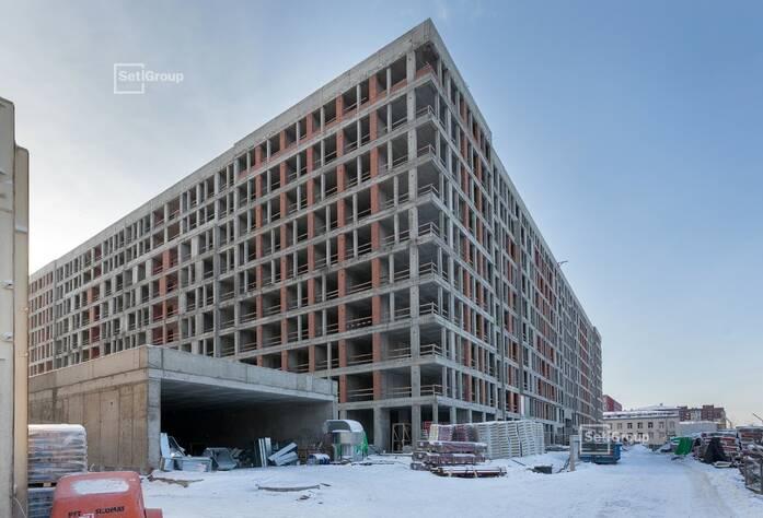 ЖК «Svetlana Park»: ход строительства корп. 1.1-1.2