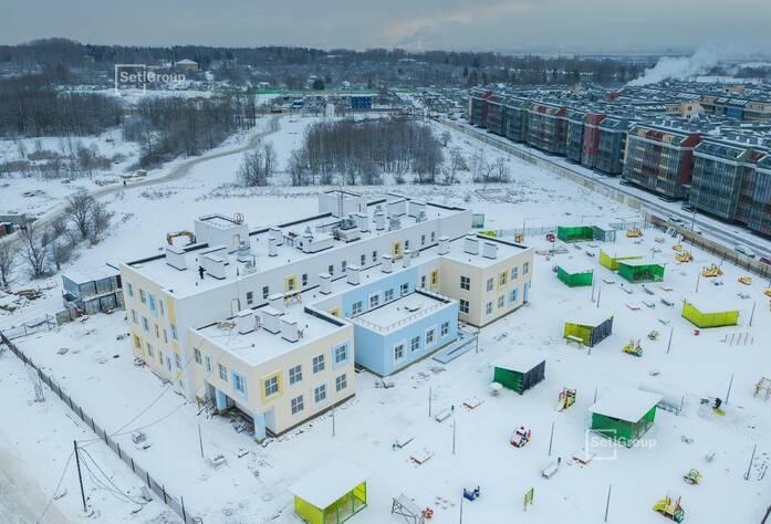 МЖК «Зеленый квартал»: ход строительства ДОО