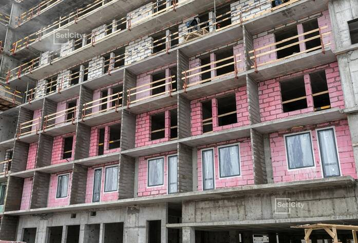 Завершаются работы по устройству 12 этажа, выполнено 90%.