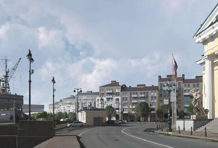ЖК на набережной Лейтенанта Шмидта: визуализация