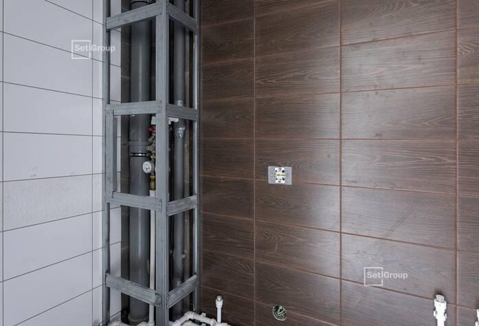 Завершены работы по монтажу лифтового оборудования.