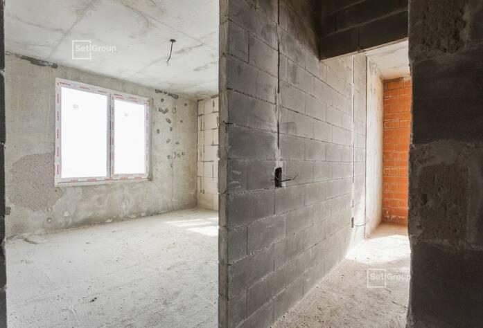 Закончены работы по каменной кладке наружных и внутренних стен.