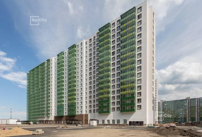 Завершены работы по устройству фасадов с балконов 1-7 секций.