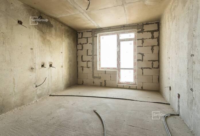 Завершены работы по устройству внутренних стен и перегородок.