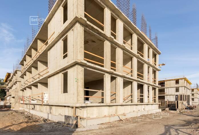 Завершены работы по устройству монолитных конструкций на уровне 3 этажа.