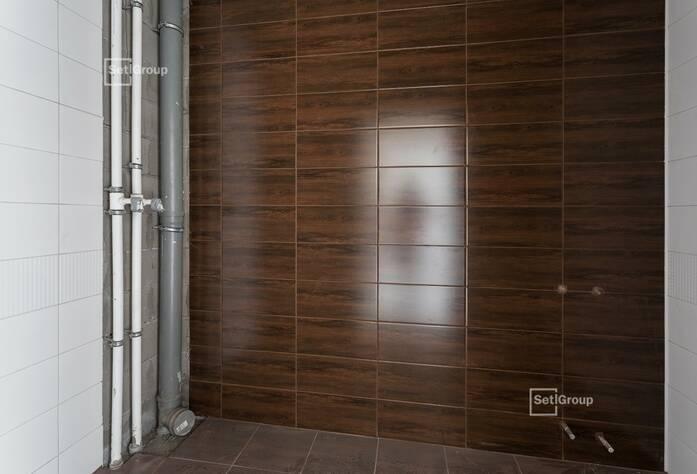 Выполнены работы по устройству откосов вентилируемого фасада.