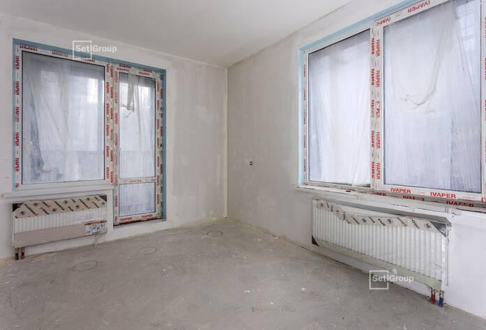 Закончены работы по устройству стяжек полов в квартирах и МОП.