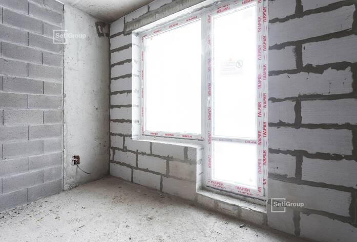 Выполнен монтаж линий электросетей в квартирах и МОП.