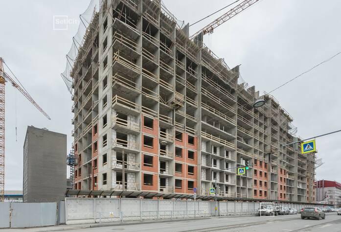Закончены работы по монтажу стен 9-11 этажей.