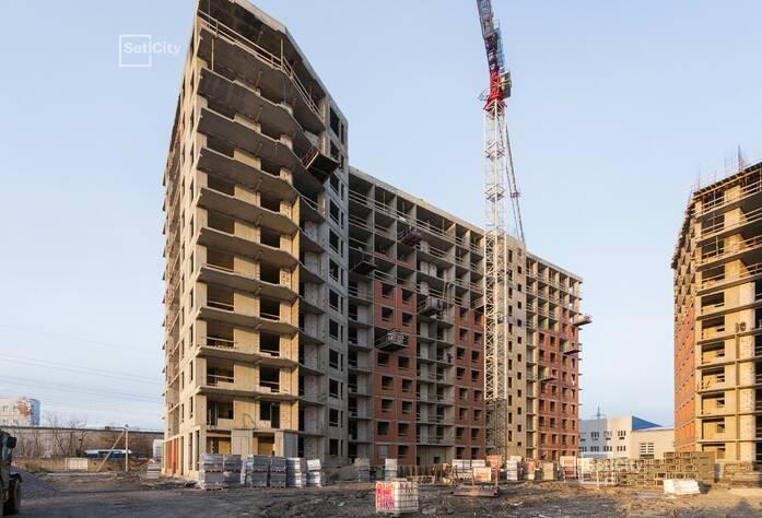 Завершены работы по устройству монолитного каркаса здания.