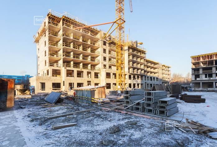 Завершены работы по устройству 3-5 этажей.