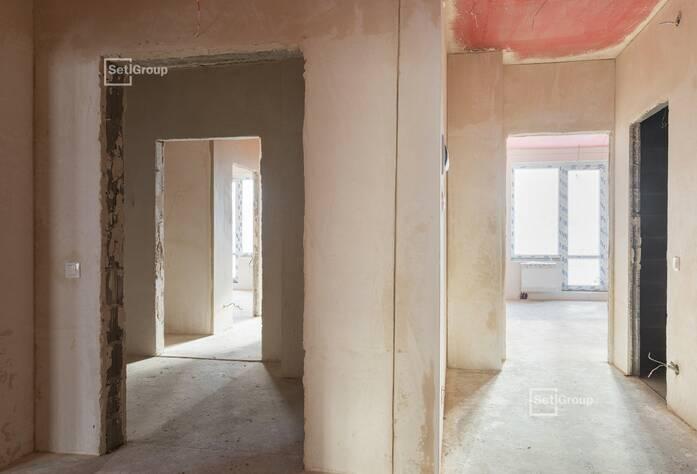 Завершены работы по бетонированию стен и перекрытий.