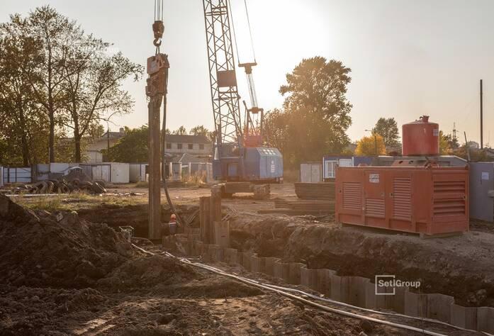 Ведутся работы по проекту организации строительства, готовность 50%.